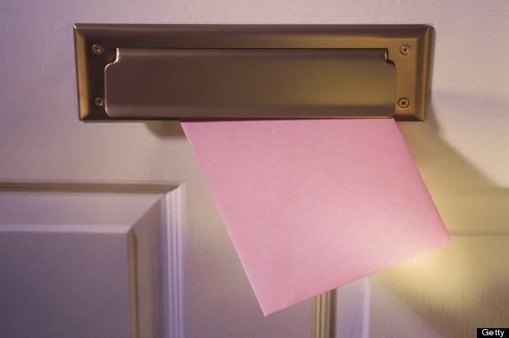 card slot in door