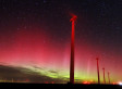 Northern Lights Shine Above Colorado Wind Farm In Rare Appearance (VIDEO)