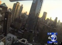 Small Drone Crashes Into NYC Sidewalk
