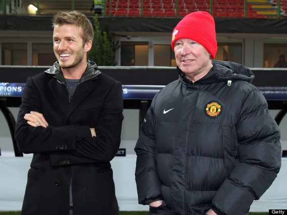 sir alex ferguson david beckham