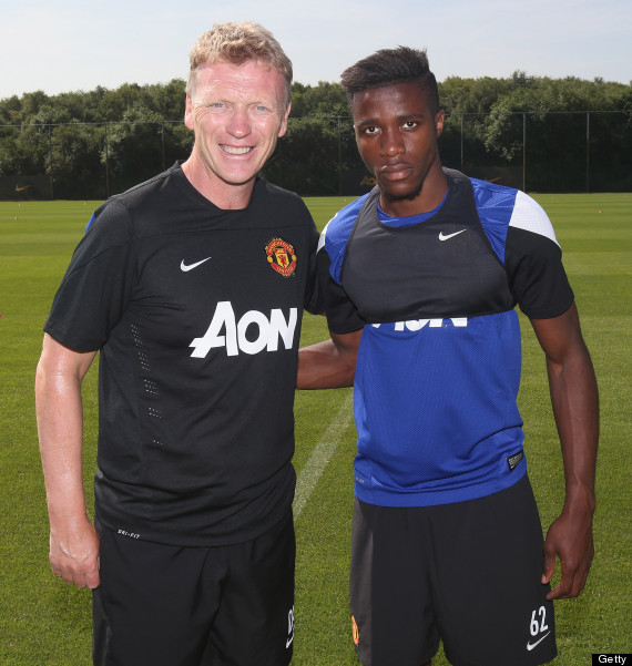 wilfried zaha david moyes