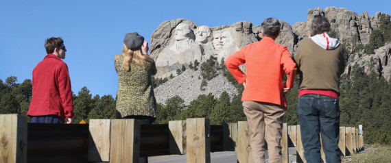 mount rushmore shutdown