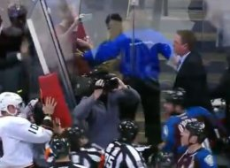 Patrick Roy Fight