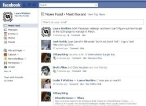 New Facebook Redesign