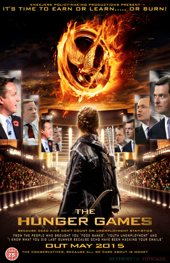 hunger games spoof david cameron