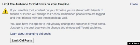 how to delete old posts on facebook 2013