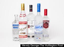 Taste Test: A Ranking Of America's Favorite Vodkas