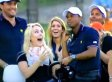 Lindsey Vonn Puts Squirrel On Tiger Woods At Presidents Cup (VIDEO)