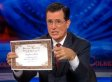 Stephen Colbert Gives Couple Dream Wedding After Government Shutdown Ruins Plans (VIDEO)