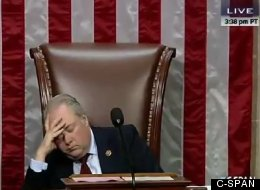 GOP Rep Caught Napping During Colleague's Speech