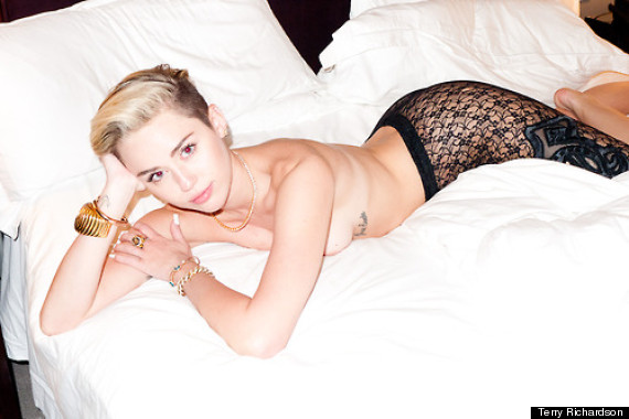 Miley Cyrus in Terry Richardson Photoshoot