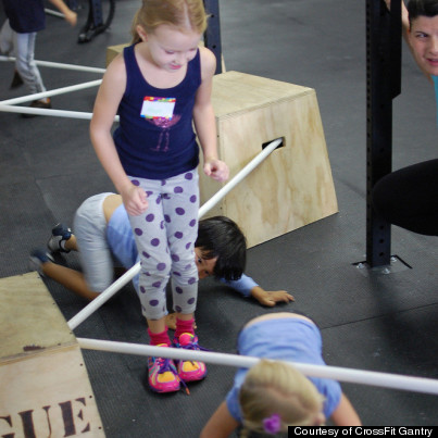 Kids Jumping On The CrossFit Bangwagon
