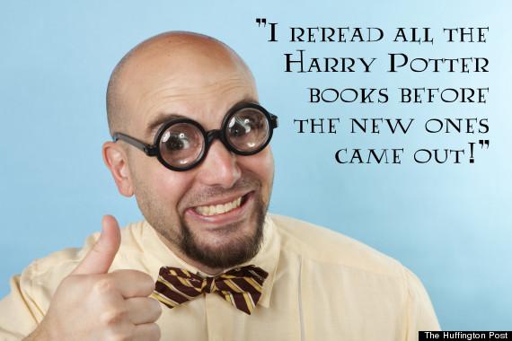 harry potter nerd