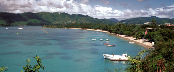 martinique beach