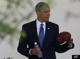 Obama White House Super Bowl Party