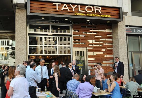 obama taylor gourmet
