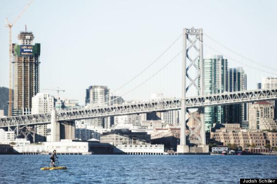 water bike bay bridge