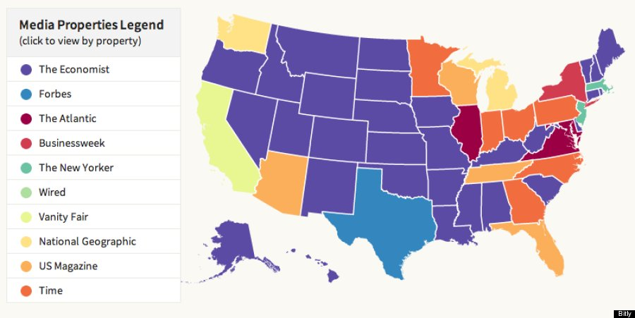 Does Your State Prefer CNN, Fox News Or BBC? Bitly\'s New Media Map ...