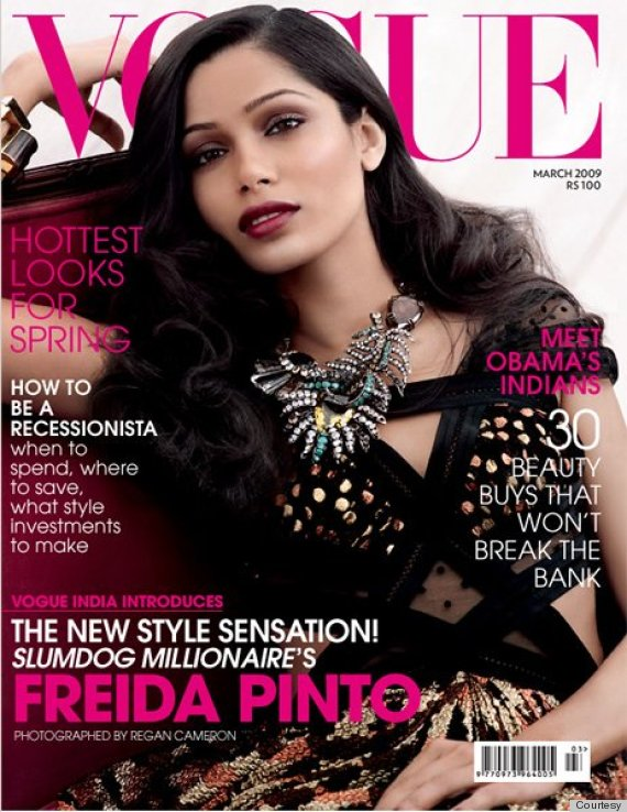freida pinto 39 s vogue india cover is dark and dramatic