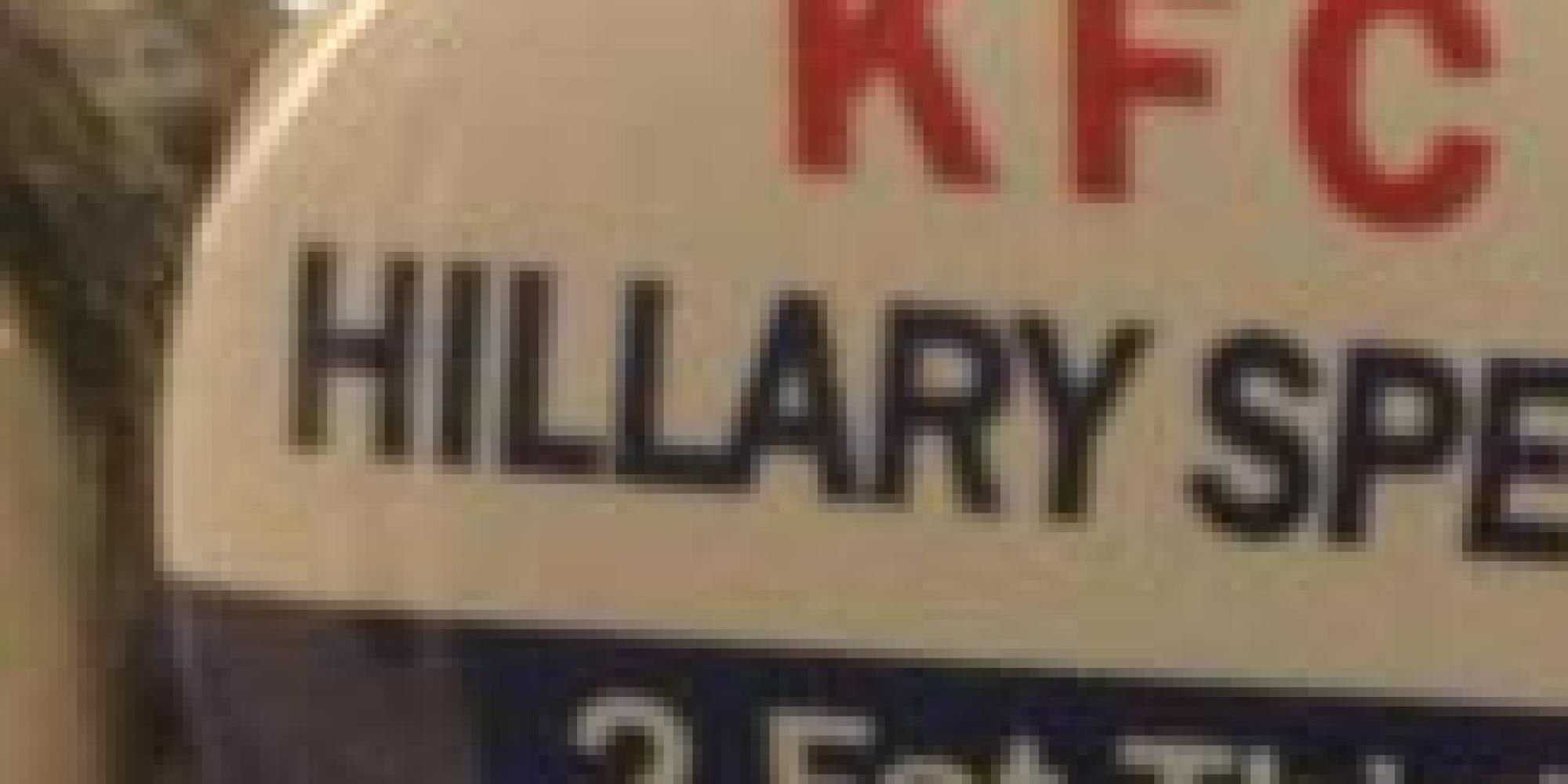 Anti-Hillary Clinton Buttons Reportedly At California GOP