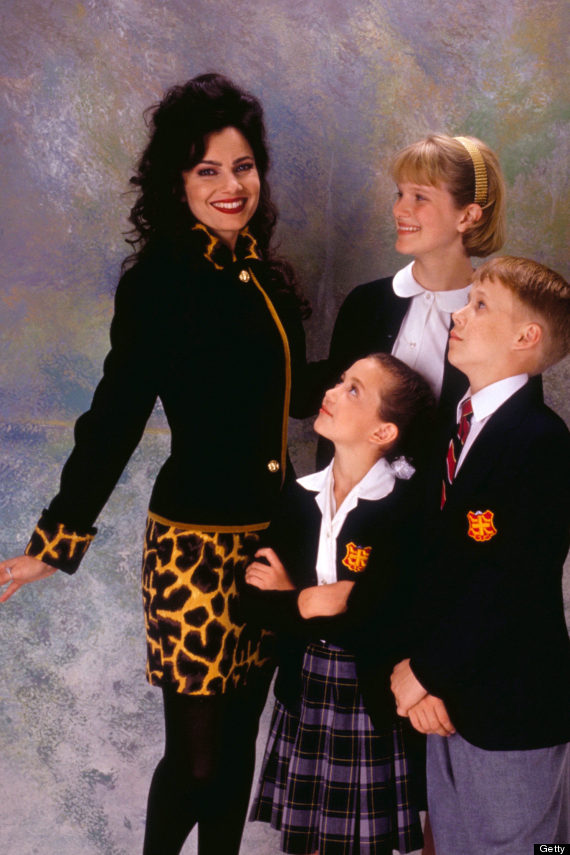 nicholle tom the nanny