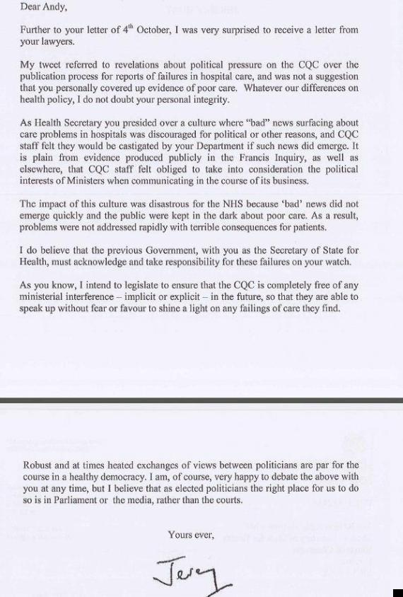 google legal cover letter
