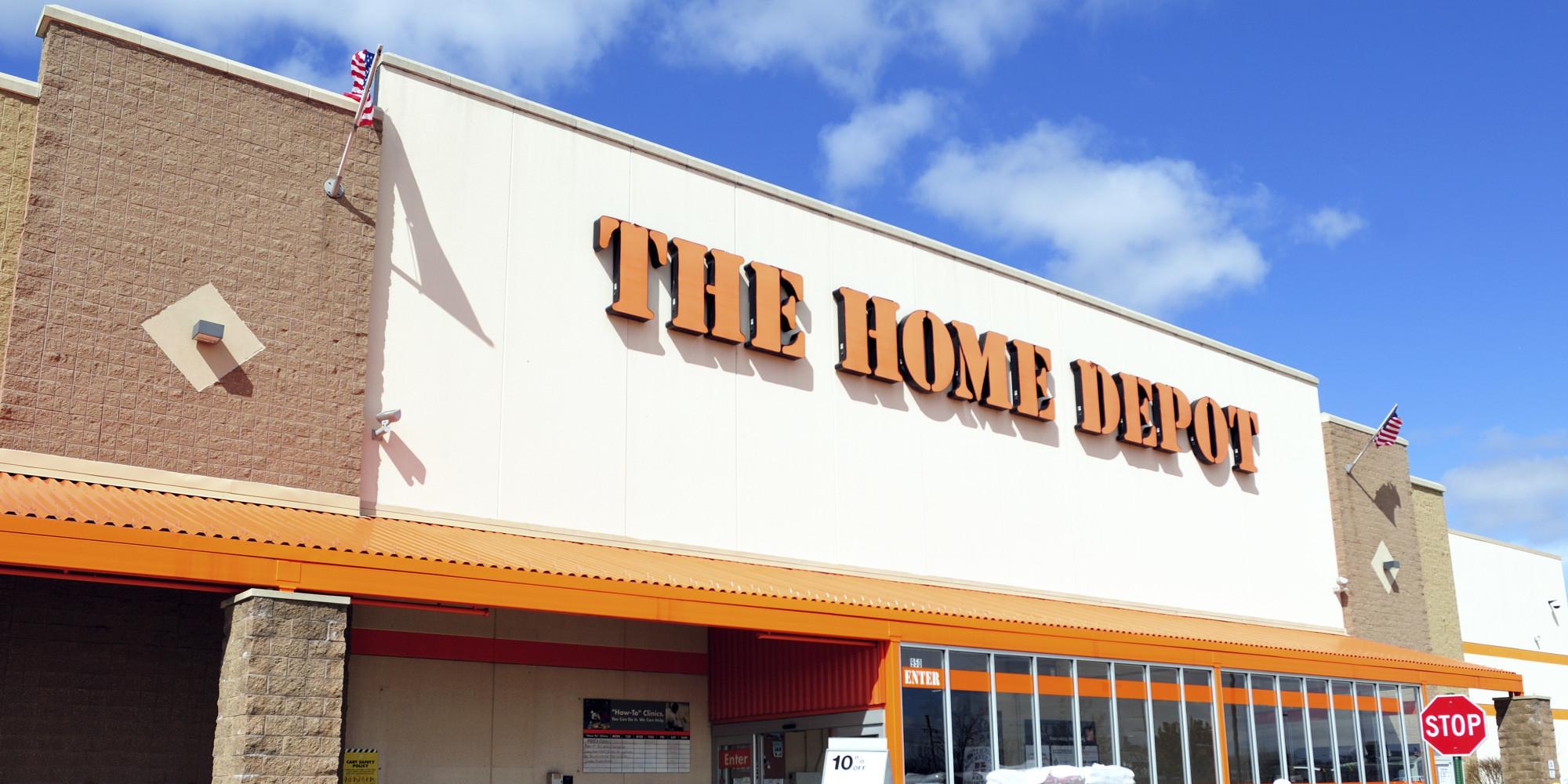 home depot business online