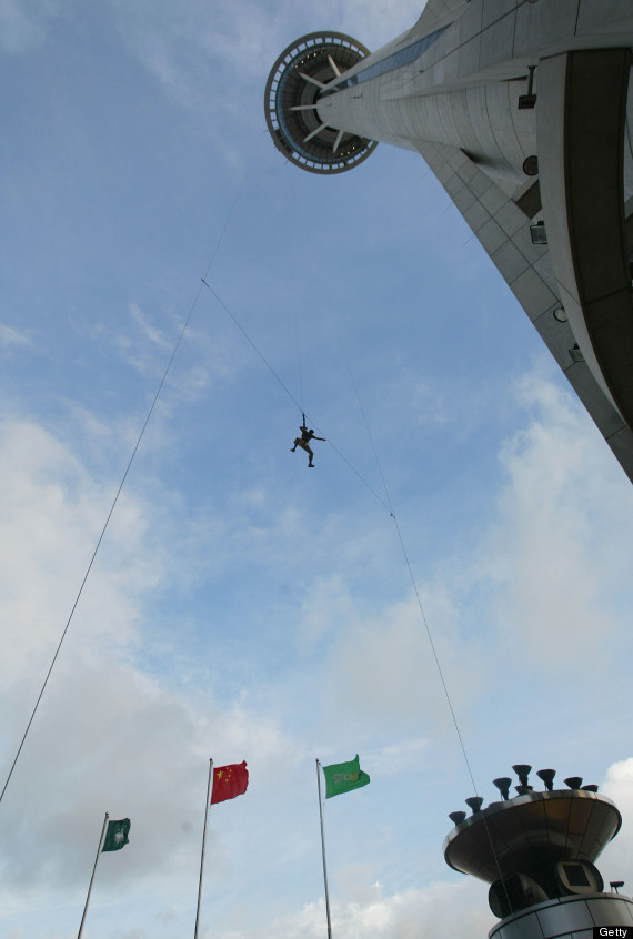 macau tower jump