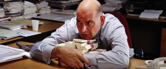 BUSINESSMAN PROTECTIVE MONEY