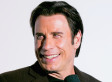 John Travolta Sports New, Long Hair On The Set Of 'The Forger'