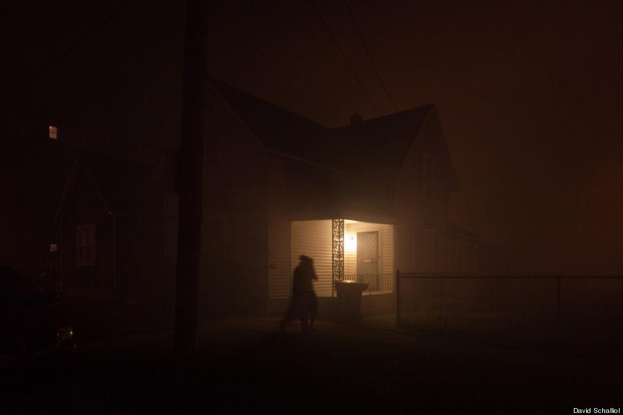detroit streetlights