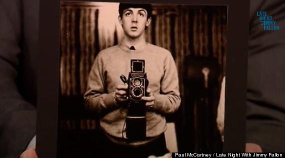 paul selfie