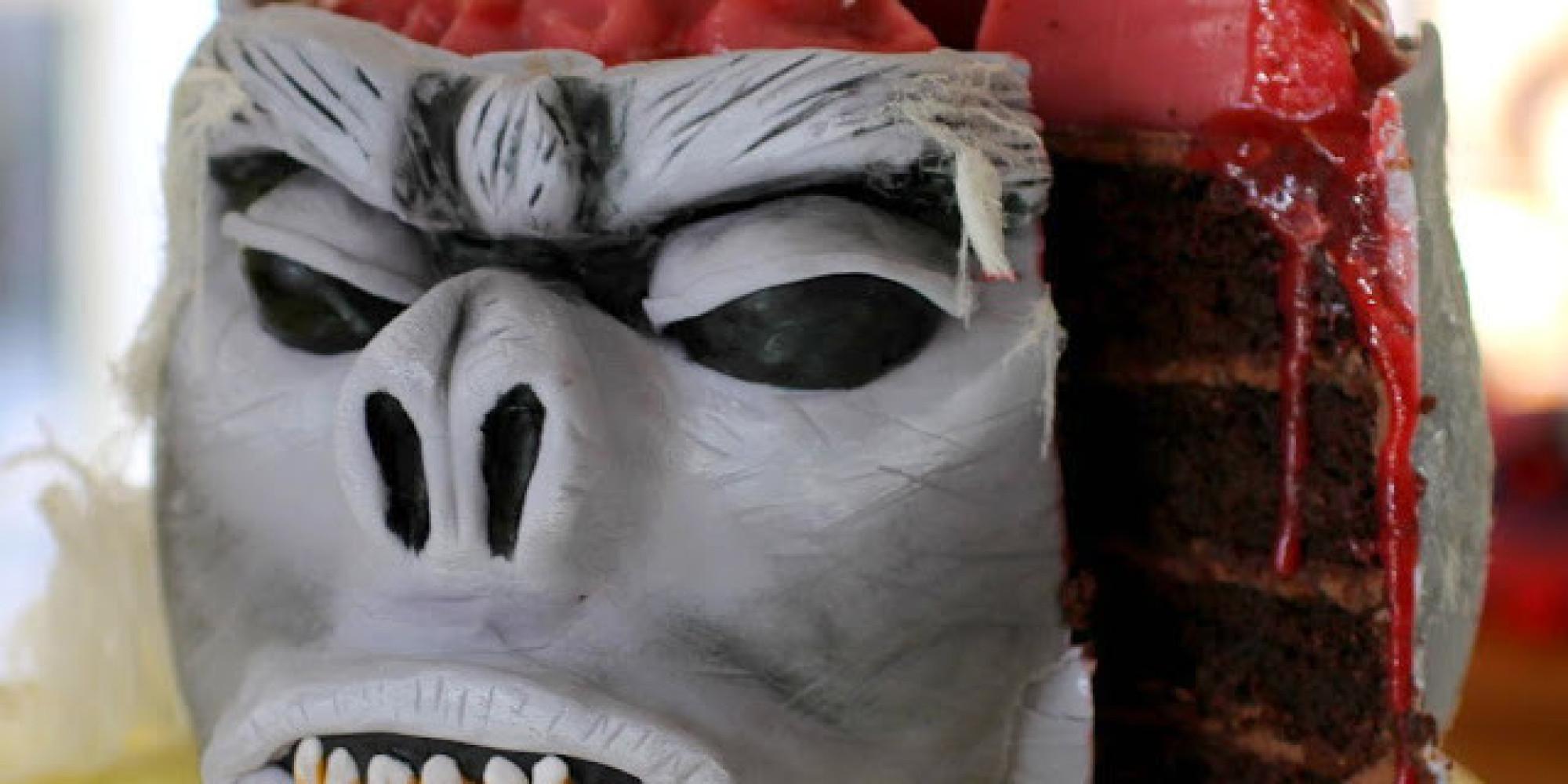 Creepy Halloween Cake Shopping List: Brains, Bugs, Blood And ...