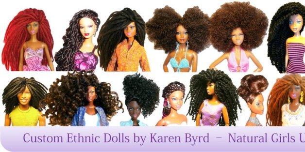 Wondrous Natural Girls United Gives Dolls Amazing Hair Makeovers The Short Hairstyles For Black Women Fulllsitofus