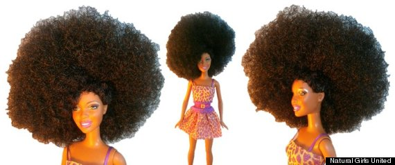 big afro doll