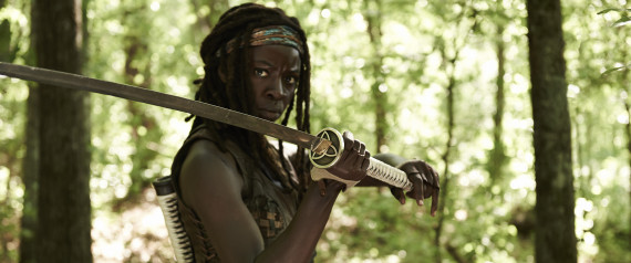 michonne best walking dead moments