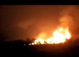 Oklahoma Pipeline Explosion Sparks Large Fire, Prompting Evacuations (VIDEO)
