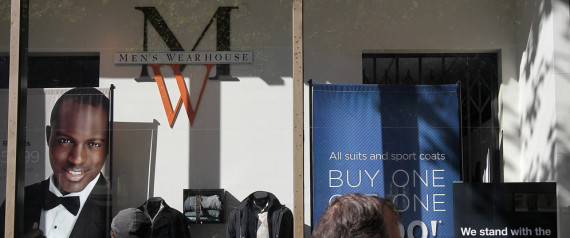 MENS WEARHOUSE SIGN