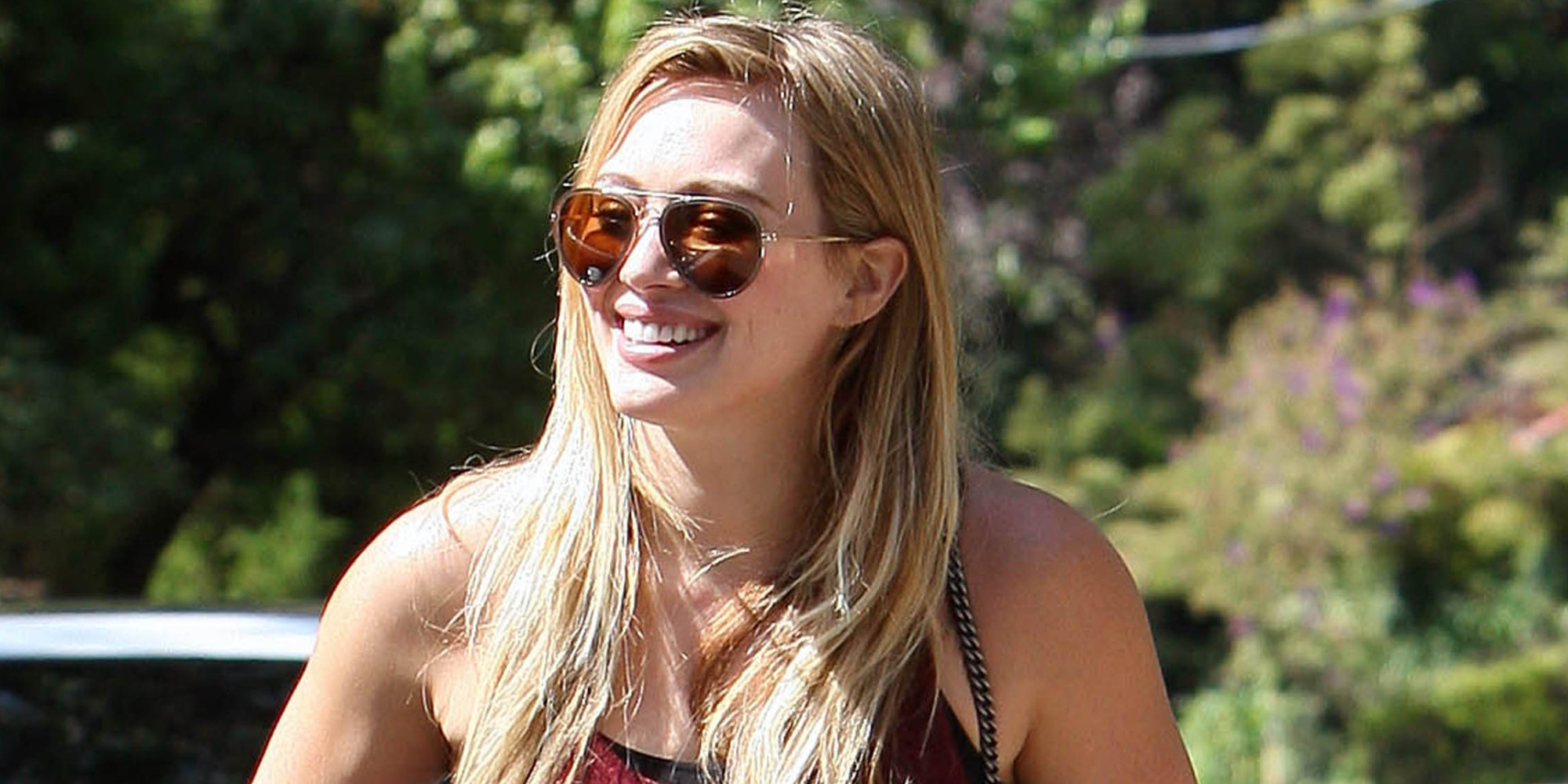 Hilary Duff Steps Out In Leggings And Booties In ... Hilary Duff Facebook