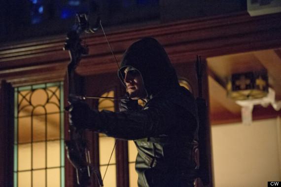 arrow hood
