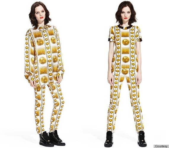 Versace, M.I.A. Team Up For Collaboration Based On Versace ...