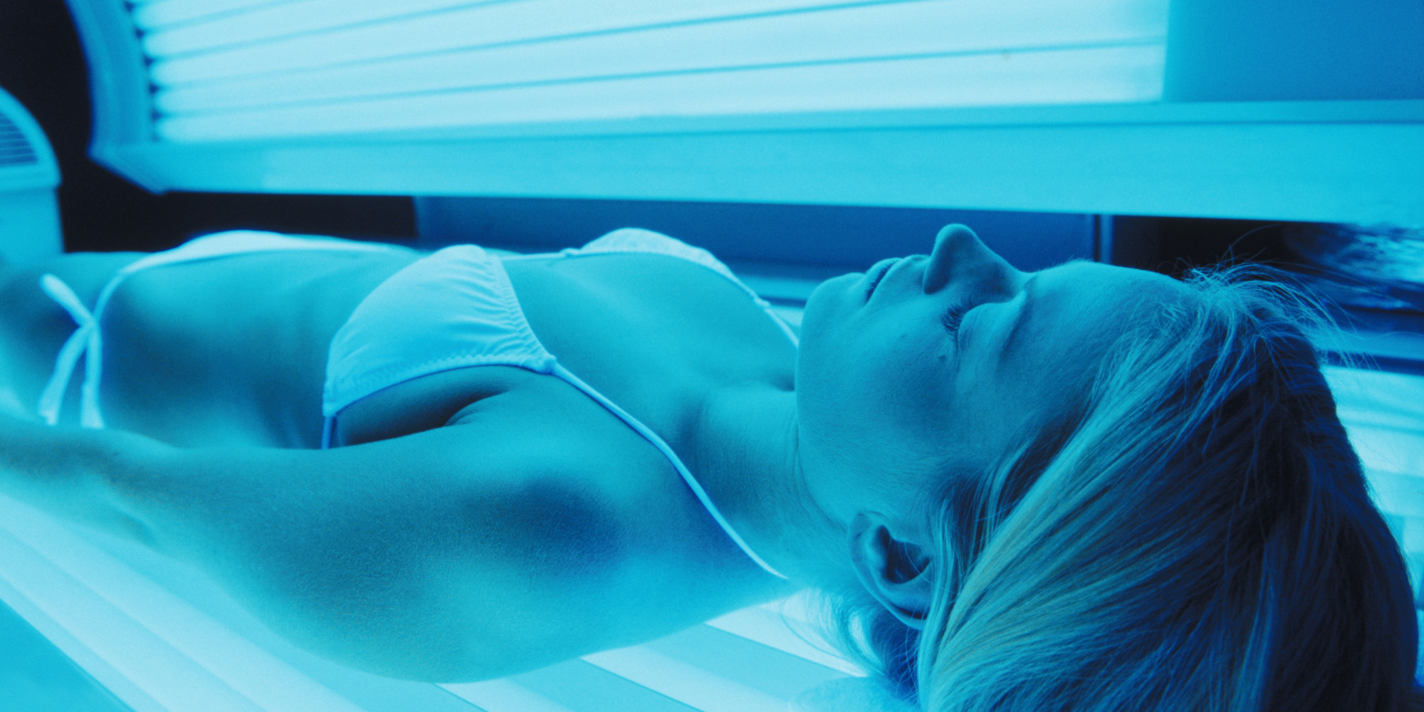 Consider, Tanning bed girl naked selfie