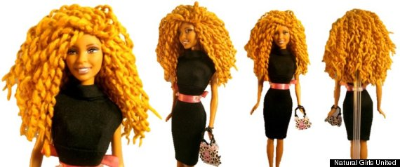 Natural Girls United Gives Dolls Amazing Hair Makeovers HuffPost - Hairstyles for dolls with long hair