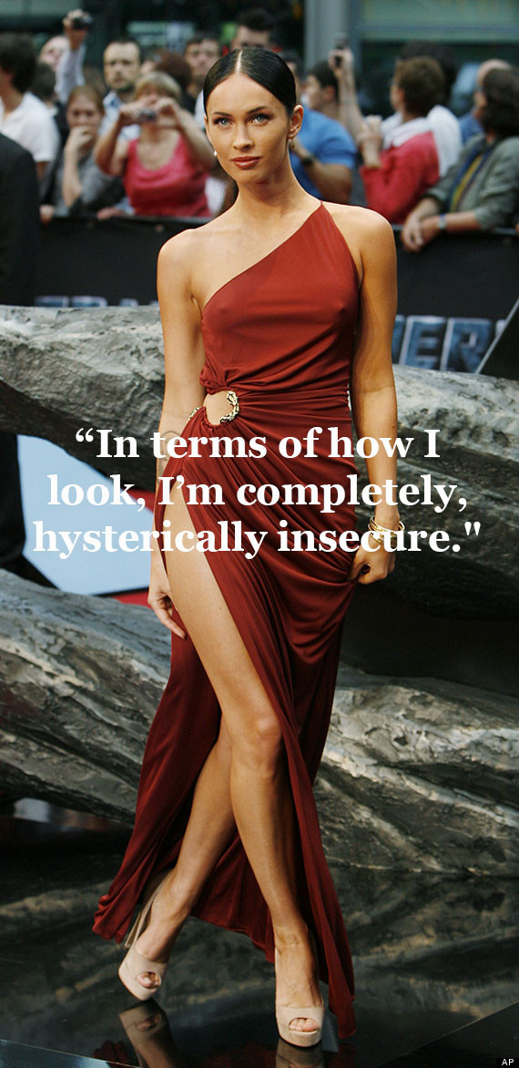 20 Celebs You D Never Guess Are Insecure Huffpost