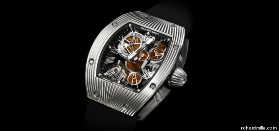 Richard Mille Meteorite Watch