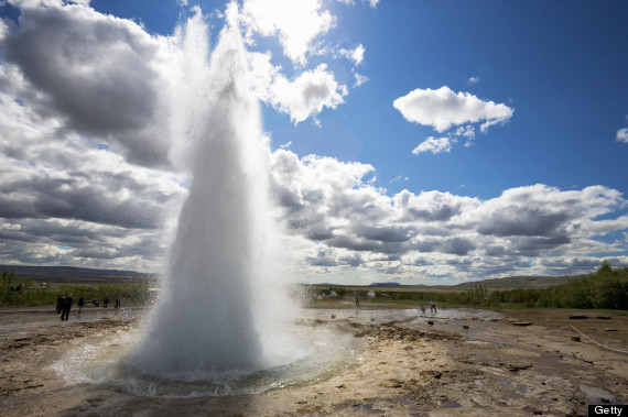 how to say geyser in french