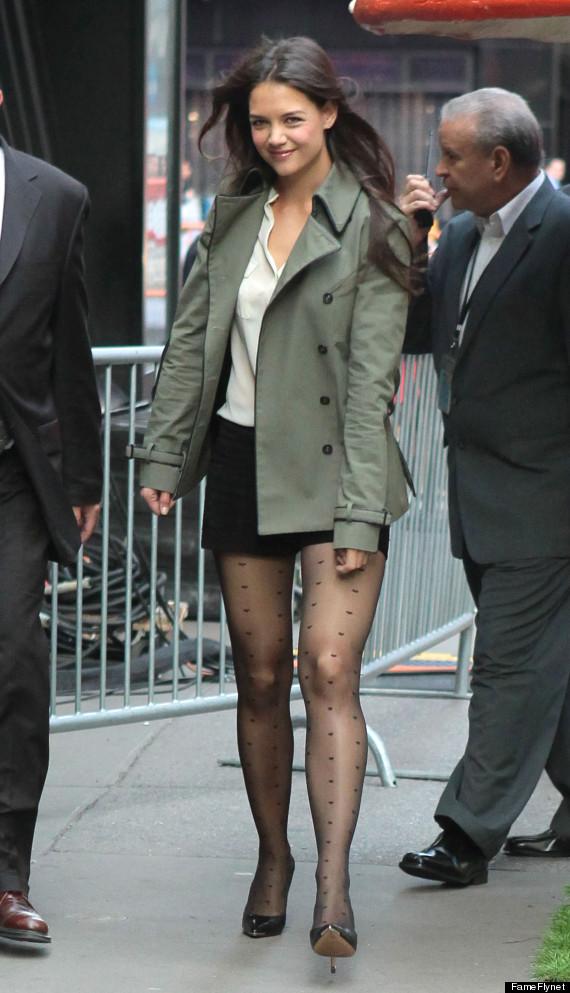 katie holmes shorts