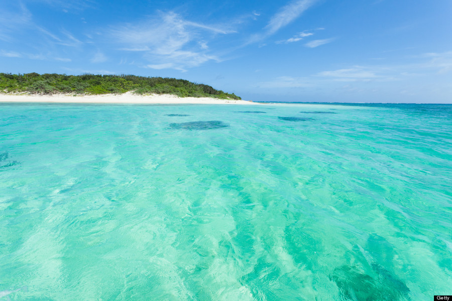 This Is The Absolute Bluest Water In The World Huffpost