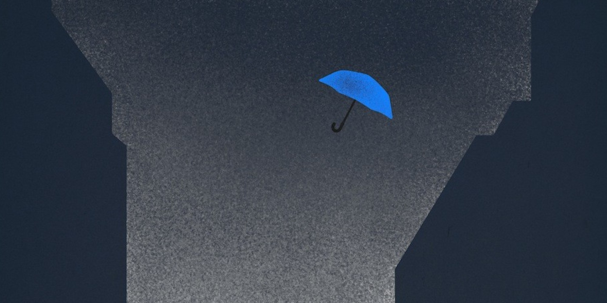 Blue Umbrella Painting Blue Umbrella' For Pixar