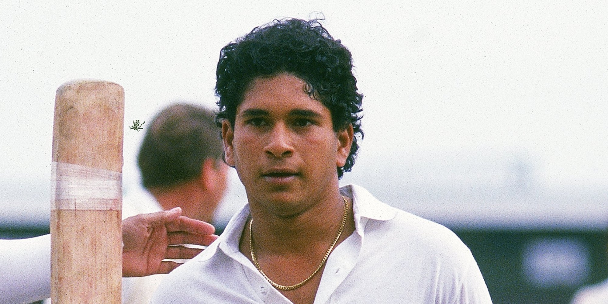 "sachin tendulkar s face s description Tendulkar was, without a doubt, the most complete batsman of his time  younis  bowled to disfigure his composed face in their debut test series and  in his  biography it is stated, ""bradman was most taken by tendulkar's."